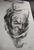 demon head by AndreySkull