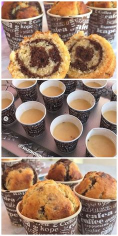 im Glas - Sosyal Tarif- Foundant, Cupcake Cakes, Cupcakes, Italy Food, Recipe Mix, Turkish Recipes, No Bake Desserts, Yummy Cakes, Sweet Recipes