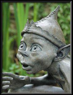 Caught in the Act - David Goode Bronze Sculpture