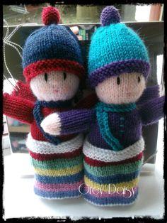 Rainbow Babies Pattern by Jean Greenhowe