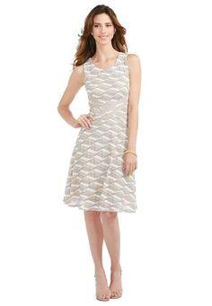 Cato Fashions Ribbon Textured Knit Dress #CatoFashions