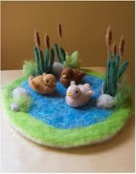duck pond from felt - Google Search