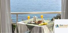 Hotel Aurora, Benitses, Corfu, Grecia Creta, Corfu, Aurora, Table Decorations, Furniture, Home Decor, Decoration Home, Room Decor, Northern Lights