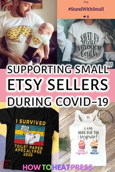 #StandWithSmall Supporting Small Etsy Sellers During COVID-19 #smallbusiness #etsy #etsybusiness #tshirts #tshirtbusiness #tshirtdesign #tshirtcreation #tshirtseller #graphicdesign #design… More
