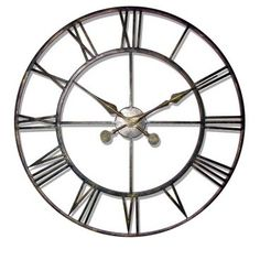 Infinity Instruments-The Iron Tower Wall Clock 29 inch