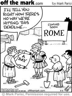 54 Ideas for ancient history rome building History Puns, History Cartoon, History Teachers, Art History, History Major, Funny Cartoons, Funny Memes, Hilarious, Funny Art