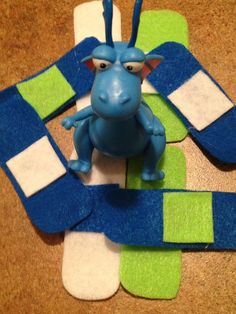 Stuffy the brave dragon. Cute for the boys and doc mcstuffins party.