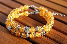 "Bracelets ""Sunny"", handmade item #handmade #bijou #bracelet"
