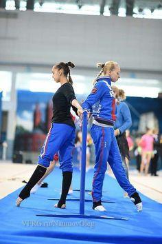 Margarita Mamun & Yana Kudryavtseva Training