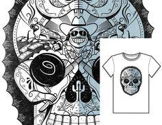 Código: #MexSkull Talles: S M L XL // Colores: Blanco y Gris Claro // Precio: $490
