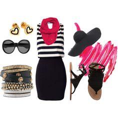 Studded Pink, created by lividkoala on Polyvore (via #spinpicks)