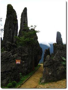 Heaven gate in Sa Pa, Lao Cai Province, Vietnam