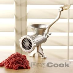 Buy Pasta Makers & Meat Mincers, Kitchen Accessories from ProCook, the UK's leading specialist cookware retailer with free next day delivery & money back guarantee. Home Made Sausage, Cast Iron, It Cast, How To Clean Rust, Pasta Maker, Fresh Chicken, Kitchen Accessories, Kitchen Gadgets, Safe Food