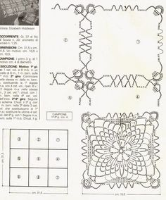 Patterns and motifs: Crocheted motif no. 226