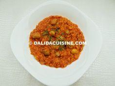 Dieta Rina Meniu Amidon Ziua 2 - Pranz Rina Diet, Chana Masala, Risotto, Vegetarian, Healthy, Ethnic Recipes, Food, Happy, Kitchens