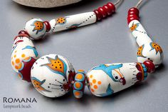 Lampwork Beads by Romana / February 2013