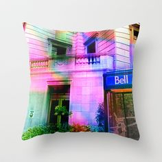 Montreal 8275 Throw Pillow by Korok Studios - $20.00