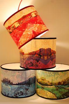 Caravan lampshades