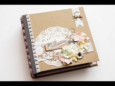 Relationship Or Wedding Scrapbook Mini Album HD - YouTube