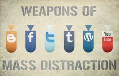"Somebody Missed ""Pinterest"". Weapons of Mass Distraction. #Infographic"