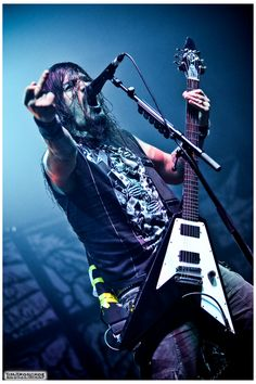 Robb Flynn ~ Machine Head / Forest National / 2010 by TimTronckoe