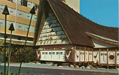 Postcard: Trader Vic's restaurant at the Bayshore Hotel, Vancouver, BC, (by Most Beautiful Cities, Beautiful Homes, Vintage Tiki, Bad Photos, Western Canada, Photo Boards, Old Pictures, Historical Photos, British Columbia