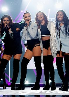 Pin on Little Mix Little Mix Outfits, Little Mix Girls, Little Mix Style, Jesy Nelson, Perrie Edwards, Meninas Do Little Mix, Litte Mix, Stage Outfits, Concert Outfits
