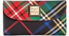 Buy Dooney & Bourke Women's Green Tartan Wallet, starting at $96. Similar products also available. SALE now on!