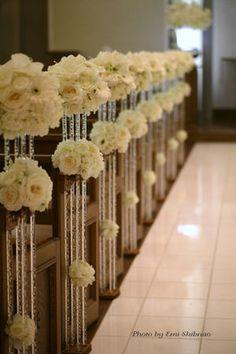 挙式をした人の平均金額は35000円!チャペル・人前式装花の画像まとめ。 - NAVER まとめ Krispie Treats, Rice Krispies, Naver