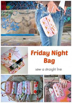 Friday Night Bag Free PDF Sewing Pattern