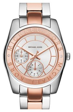 MICHAEL Michael Kors Michael Kors 'Ryland' Chronograph Bracelet Watch, 33mm available at #Nordstrom