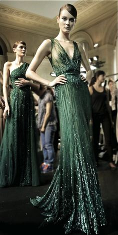If I were walking the #Oscars red carpet...  Elie Saab Haute Couture Fall/Winter 2013-2014