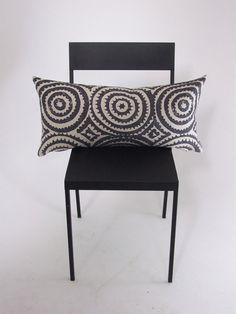 Designers+Guild+Corales+Fabric+Bolster+Cover, £20.00 Boho LA Californian cushion, charcoal, neutral.