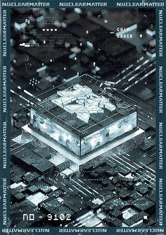 硬核物质概念海报 The Nuclear Matter Concept Poster - 原创作品 Graphic Design Posters, Graphic Prints, Cpu Wallpaper, 3d Design, Book Design, Tech Art, Aesthetic Themes, Album Design, Poster On