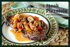 If you're looking for a dinner entrée that is as meaty as it is healthy, look no further! This recipe for Steak Pizzaiola combines delicious grilled strip steaks with a topping of sauteed mushrooms, onions, peppers, capers and a can of Red Gold tomatoes, that will bring it all together …