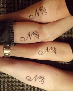 21 tatuagens fofas para fazer entre irmãos - Imagen 4