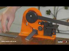 Magnetic Bending Machine Mechanische Abkantbank Mechanicka Ohybacka Zaginarka Magnetyczna - YouTube