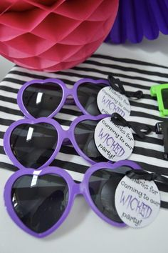 Descendants Party ideas from celebrate in detail Favor tags- invites, cupcake toppers all free printables