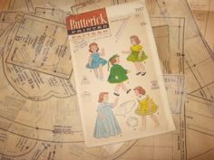 "Old Doll Clothes PATTERN 23"" Saucy Walker Bonny Braids Susan Stroller ORIGINAL"