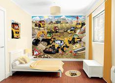 Fototapete kinderzimmer baustelle  64 best Kinderzimmer ▷ Baustelle images on Pinterest | Advertising ...