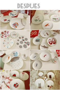 (repinned from: pottery painting workshop in El Club Handmade [Barcelona].)pottery painting workshop in El Club Handmade (Barcelona). Awesome!