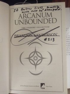 [Personalization] new piece of information about the Diagram that is important to the Cosmere.