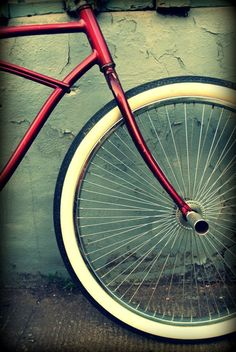 Vintage Bicycle Photograph Fine Art Print 8x10 by SugarlilyVintage, $20.00