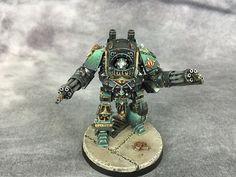 Sons of Horus Contemptor Celsork  warhammer 30k soh