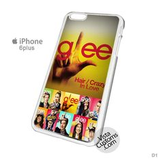 Glee TV Drama Series Logo Phone Case For Apple, iPhone 4, 4S, 5, 5S, 5C, 6, 6 +, iPod, 4 / 5, iPad 3 / 4 / 5, Samsung, Galaxy, S3, S4, S5, S6, Note, HTC, HTC One, HTC One X, BlackBerry, Z10