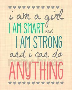 This quote is expressing that you should always empower yourself.