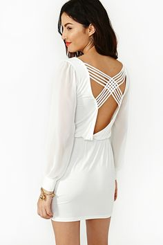 Cute long sleeved dress:)