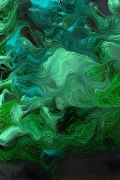 Abstract Art ~ Green