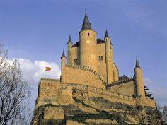 Alcazar Tower, Segovia, Spain - http://imashon.com/w/alcazar-tower-segovia-spain.html