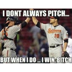 The Baltimore Orioles and Boston Red Sox played 17 innings on Sunday. Designated hitter Chris Davis got the win. There's a word for this kind of game, and it's okay to use it. Buck Showalter, My Mets, Chris Davis, Baltimore Orioles Baseball, American League, Home Team, Baseball Players, Boston Red Sox